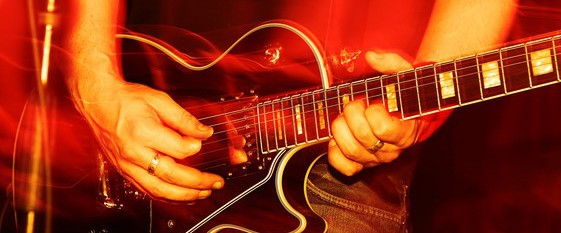The guitar  - Hobby for Cool Guy
