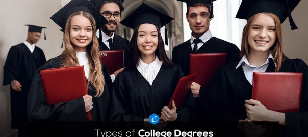 The Difference between Types of College Degrees