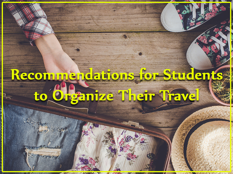 Travel Tips for Students