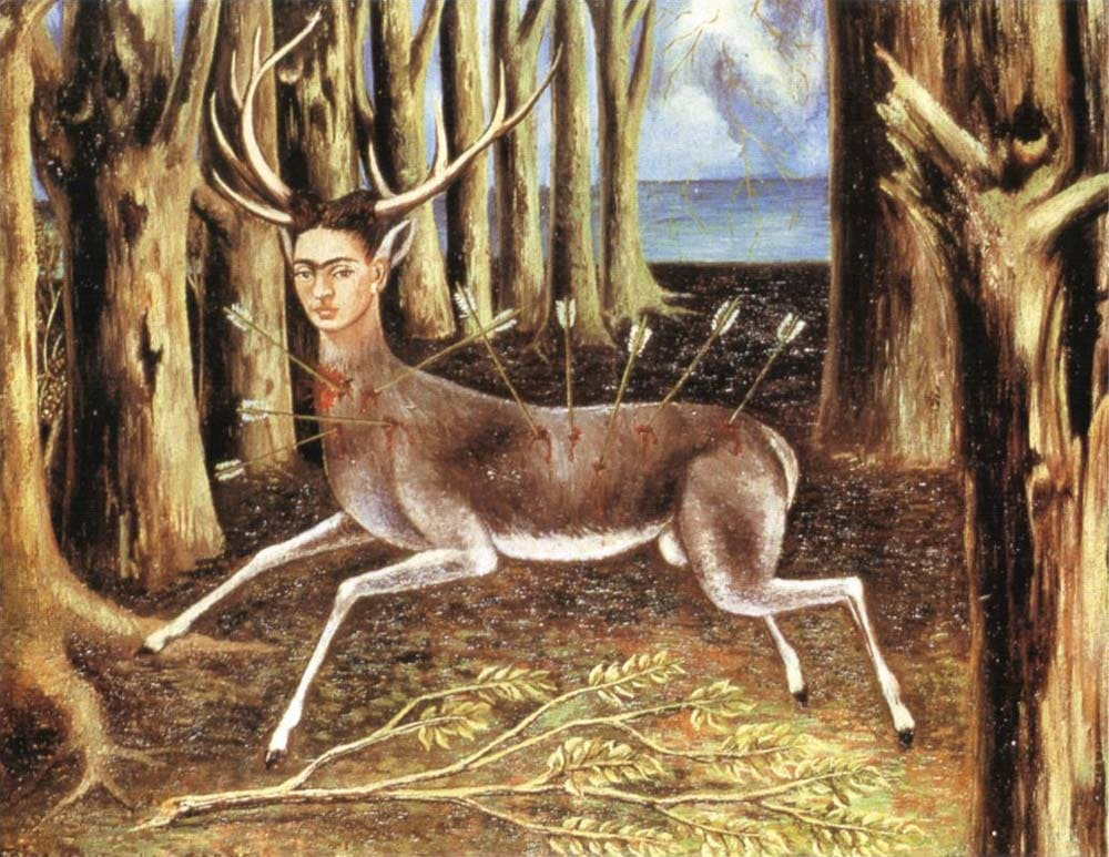 the wounded deer frida kahlo