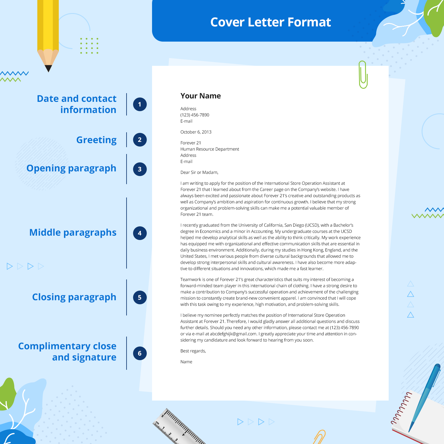 Format a Cover Letter