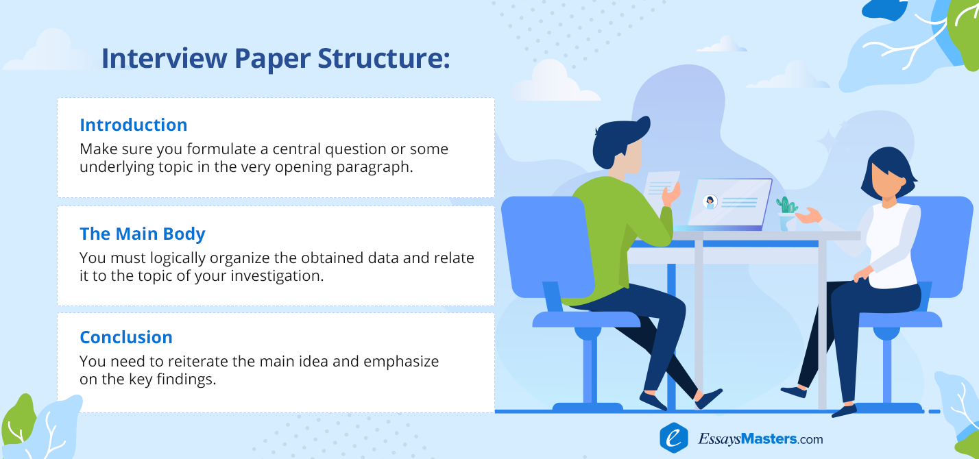 Interview Paper Structure