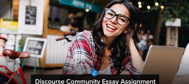 Writing Discourse Community Essay