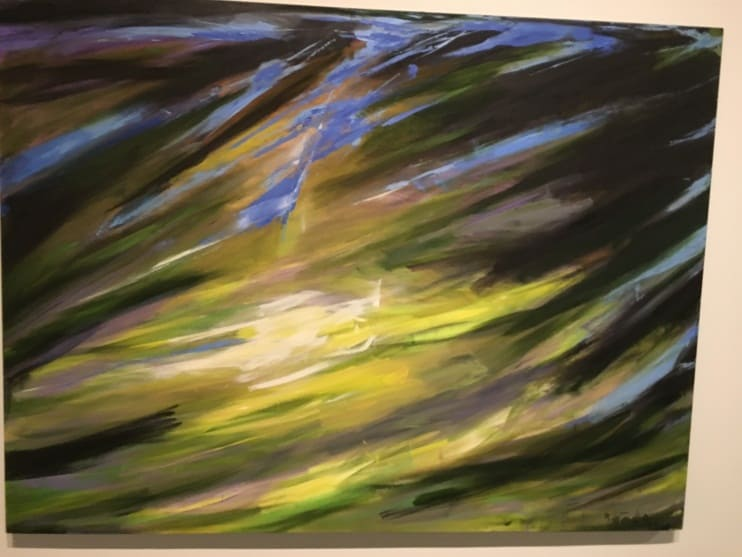 Fire and Light Exhibition by Rita Letendre Art Gallery of Ontario